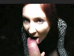 Find, Redhead public, Outdoor cock on cock, Finds, Pov my cock, Redhead pov blowjob