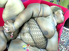 Everything, Everythings, Ebony drilled, Ebony big tits and ass, Big tits hardcore, Curvaceous