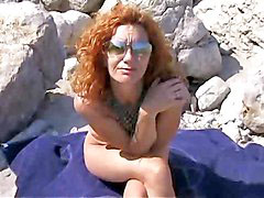 Milf, Beach, Hot