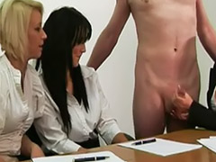 Office gangbang, Office babe, Office work, Ending, Slimy