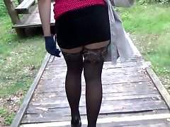 Mature walking, Heels walk, Babe walking, Walk stockings, Walk, Walking