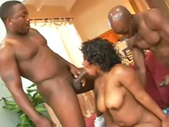 Chubby threesome, Threesome chubby, Hot chubby, Great asses, Great ass sex, Big ass hot babe
