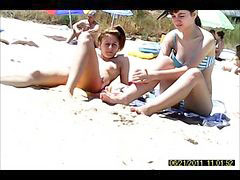 In beach, Girle beach, Girl beach, Beach in, June, Beach