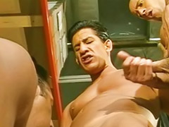 Full anal, Gay full, Full gay, Group of masturbation, Anal full, Full of cum