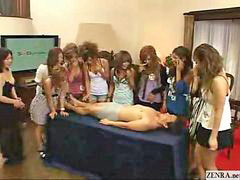 With 2 japanese girl, Who girl, Examines, Examine, Examination, Girls with cocks