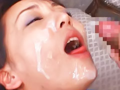 Cute bukkake, Eyes cum, Eyes, Cum eyes, Japanese close, Eyes closed