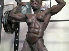 Ebony, Muscles, Muscle