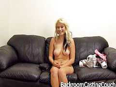 Casting, Creampie, Teen creampie, Office