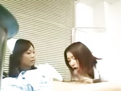 Nasty threesome, Patient, Asian patient, Nurses threesome, Nurse patient, Nurse censored