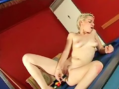 Nelly, Pool table, Nellie, Nellie pierce, Table masturbation, Solo girl on table