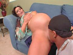 Anal, Pregnant, Interracial
