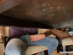 Under, Sweet, Footjobs, Mckenzie, Under a, Under table