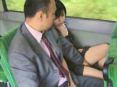 Bus, Japanese bus, Bus japanese, Bus was hot, So hot, Japanese lover