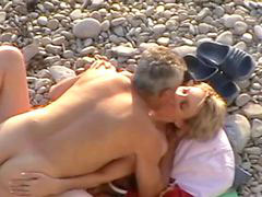 Beach, Couple, Coupl, Beache, Nv, Couple beach