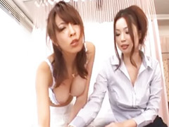 Kasumi, Japanese hot threesome