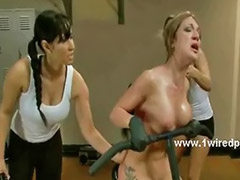 Lesbian gym, Electric, Lesbian experience, Lesbians gym, Experience lesbian, Sex in gym