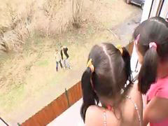 Pigtail, Pigtailed, Fanny, Pigtails, Pigtail latinas, Fannie