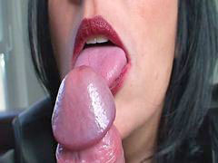 Lipstick, Slow, Slow blowjob, Lipstick blowjob, Lipsticks, Lipstick blowjobs