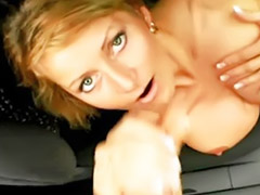 German bitch, German public, German outdoor, German car, German public blowjob, German outdoor blowjob