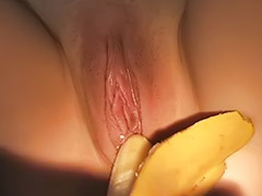 Banana, Banana sex, Anal cock pov, Cock and toys, Toy and cock, Banana anal
