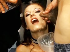 Huge swallow, Huge gangbang, Huge bukkake, Bukkake swallows cum, Cum bukkake swallowing, Bukkake swallow