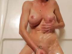 Blondes in shower, Amateur shower, Webcam shower, Big tits blonde webcam masturbation, Tits shower, Shower webcam