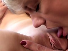 Young lesbian fuck old