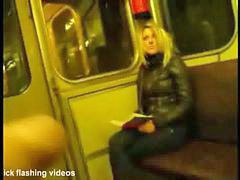 Train, Blonde, Masterbation
