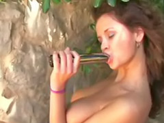 Outdoor dildo, Dildo outdoor, Lucy girl, Dildo masturbation outdoor, Dildo fun, Girls have fun