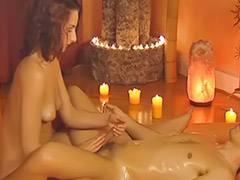 Surprise, Lingam, Surprised massage, Surprise massage, Lingam massage, Surprise handjob
