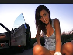We sex, Public brunette fuck, Sos-fuck, So cum, Fucked so sex, Car pov
