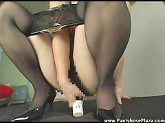 Own pussy, Mistress pantyhose, Pantyhose pussy, Pantyhose in pussy, Pantyhose dildo, Pantyhose mistress
