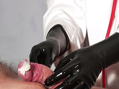 Mature, German handjob