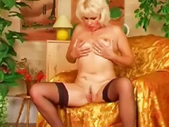 Mature wife, My wife, My mature, Wife stockings, Stockings wife, Mature solo stockings