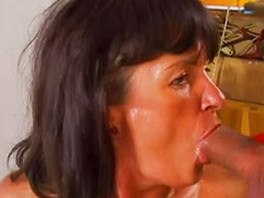 Wife anal, German milf, German anal milf amateur, Wife swallows cum, Wife swallow, Milf amateur wife