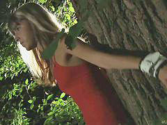 Gina gerson, Forest, Gina gersons, Fucked and bound, Fuck in forest, Fucked in the forest