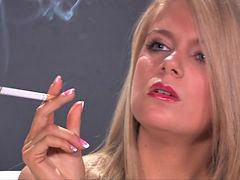 Smoking, Fetish, Smoking fetish, Lucie b, Fetish smoking, Lucie
