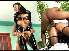 Latex, Hairy anal, Anal hairy, Oily, Black cfnm, Latex anal