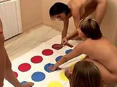 Naked play, College girl naked, Twister