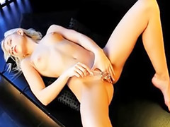 Leather, Blonde sofa, Angel model, Sofa solo, Sofa leather, Sofa blonde
