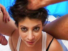 Made sex, Latin deepthroat, Deepthroat gagging, Mades, Eyes cum, Eyes