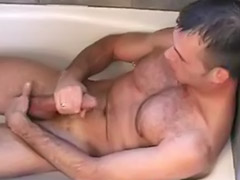 Cumming alone, Bathtub, *gay, Gay bathtub, Bathtube, Bathtub solo