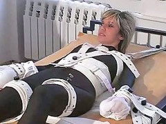 Shackles, Cuffs, Cuff, Girl in bondage, Bed bondage, Bondage in bed