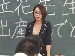 Lactating, Japanese teacher, Lactation