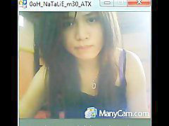 Cam show, Natalie, Beautiful body, Body on body, Camfroge, Camfrogเกาหลี