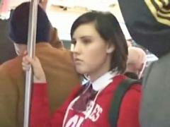 Schoolgirl, Train, Schoolgirls, Fun