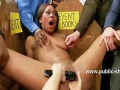 Library, Bound gangbang, Bound gangbangs, Roped, Rope bondage, Gangbang dominated