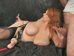 Redhead, Hugetits, Hugetit, Titted, Huge titted, Redhead