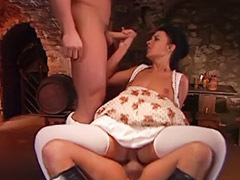 Maid fuck, Vintage double, Maid anal, Anal maid, Two maids, Vintage maids