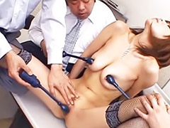 Cougar, Office japanese, Milf cougar, Jun kusanagi, Jun, Milf gangbanged